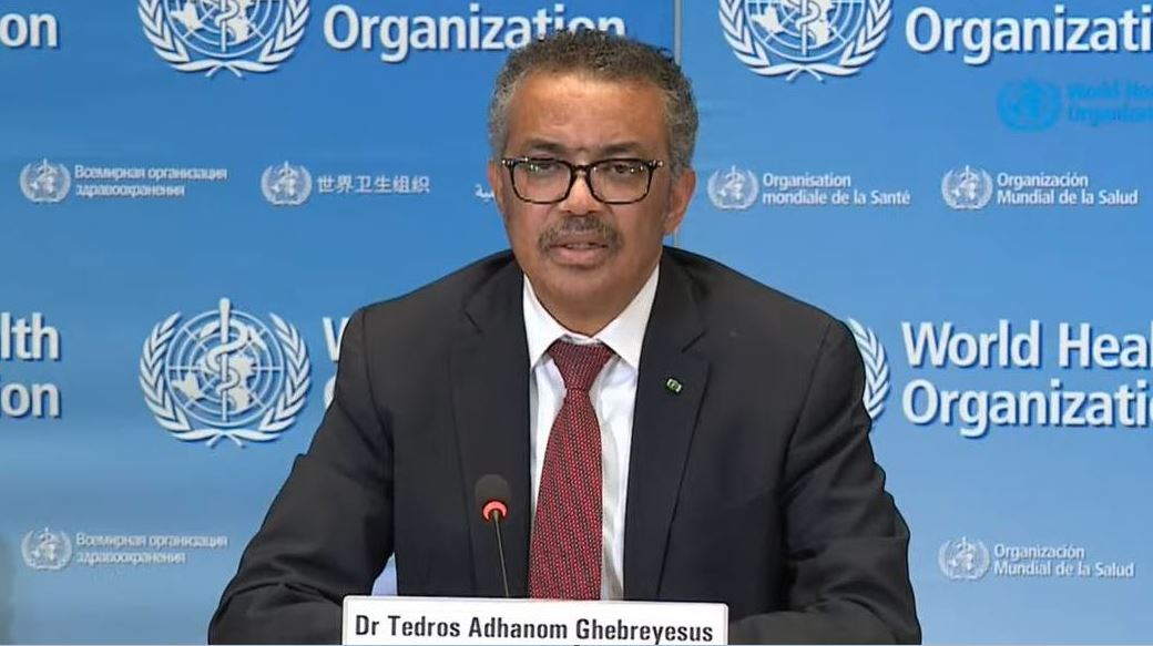 Trump's Twitter letter to Tedros full of political threats - CGTN
