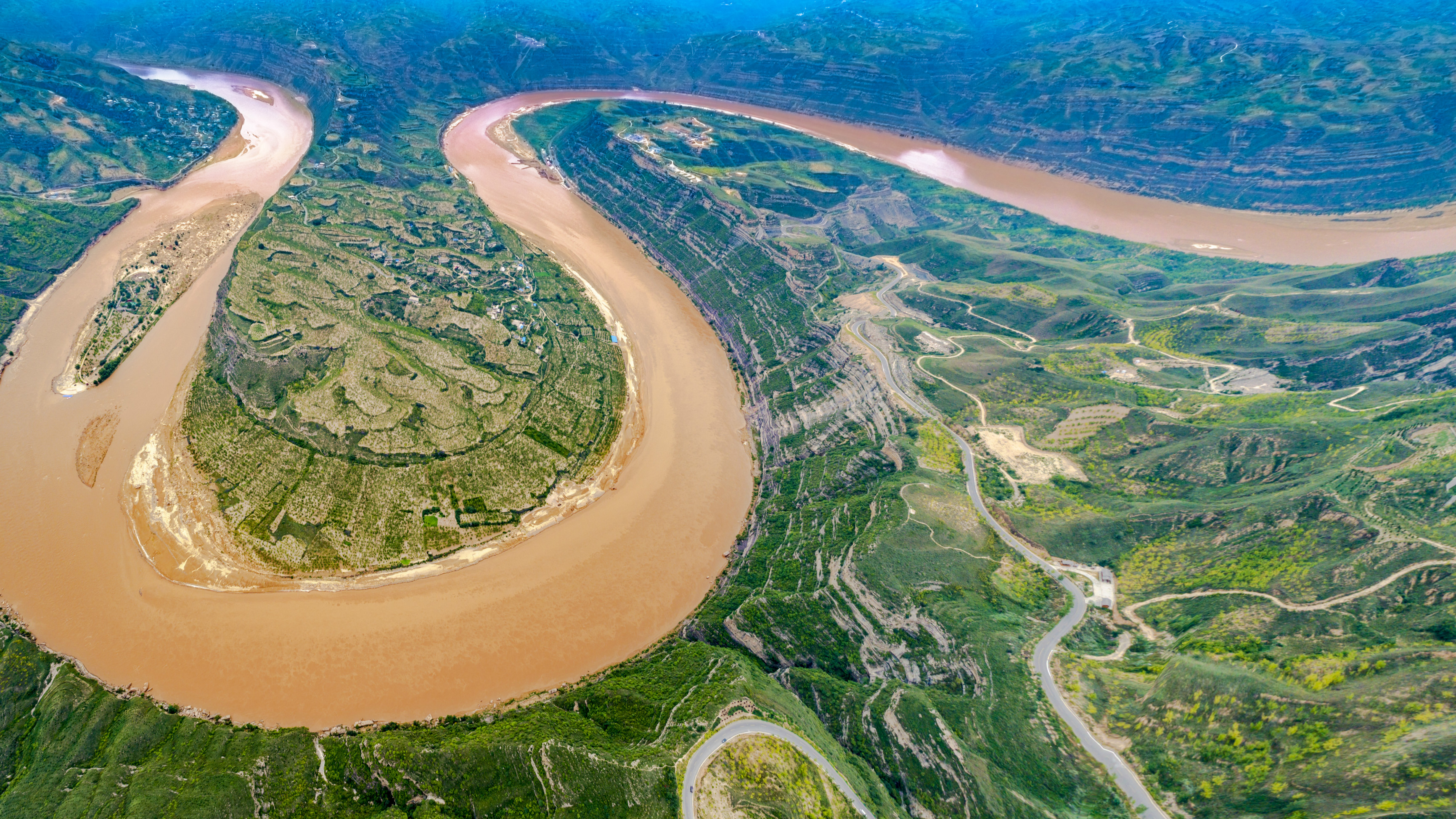Xi expresses concern over China's Yellow River once again - CGTN