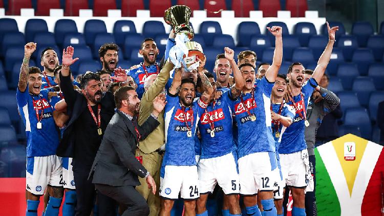 Napoli Defeat Juventus On Penalties To Win Coppa Italia Cgtn