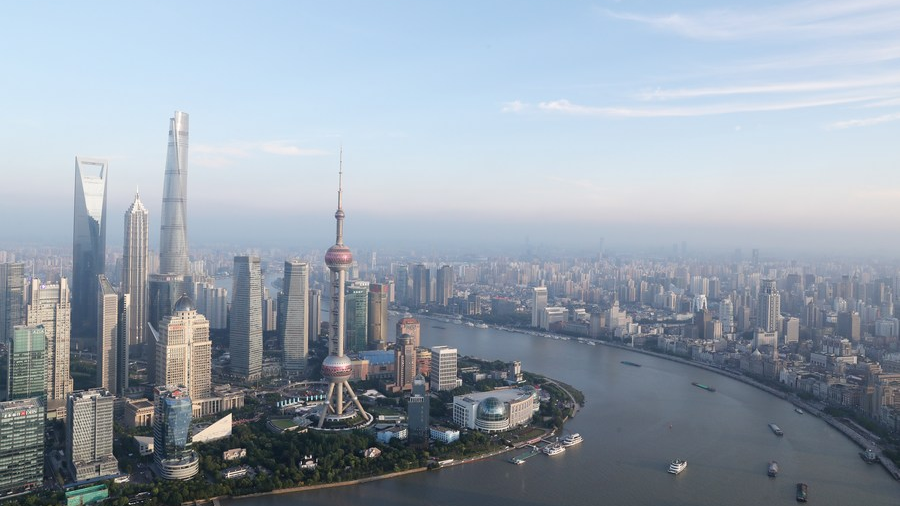 Shanghai is on the way to become a leading fintech center - CGTN
