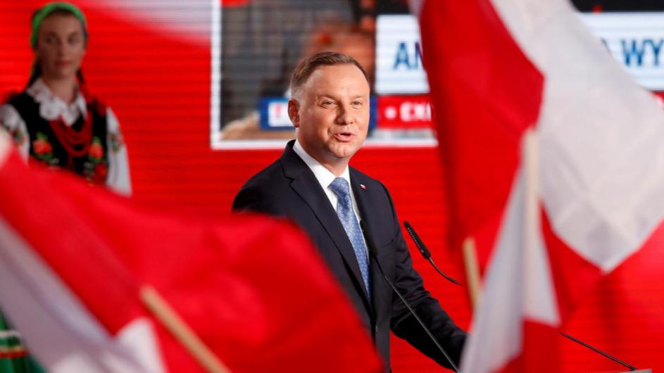 Polish President Duda faces tough run-off vote on July 12 - CGTN