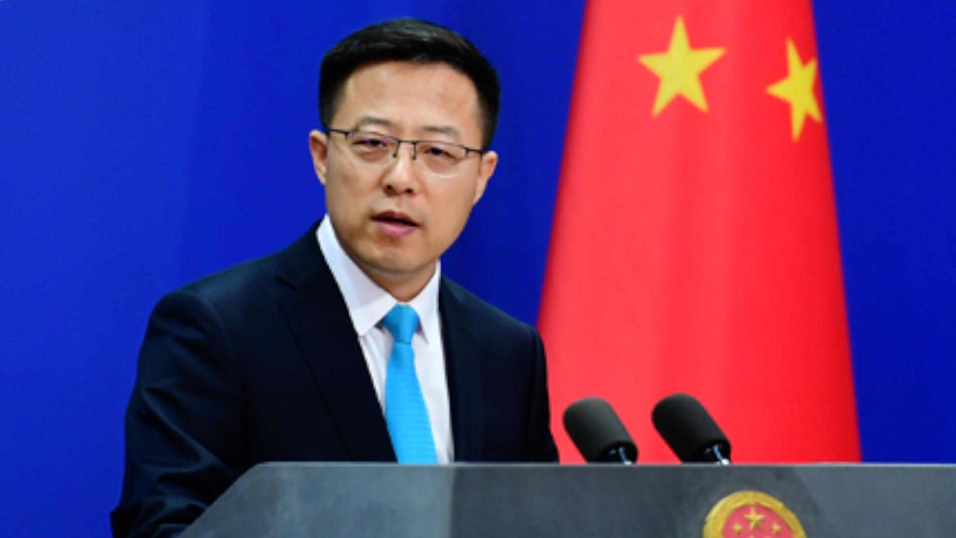 Zhao Lijian: 'You are buying FBI's words?' - CGTN