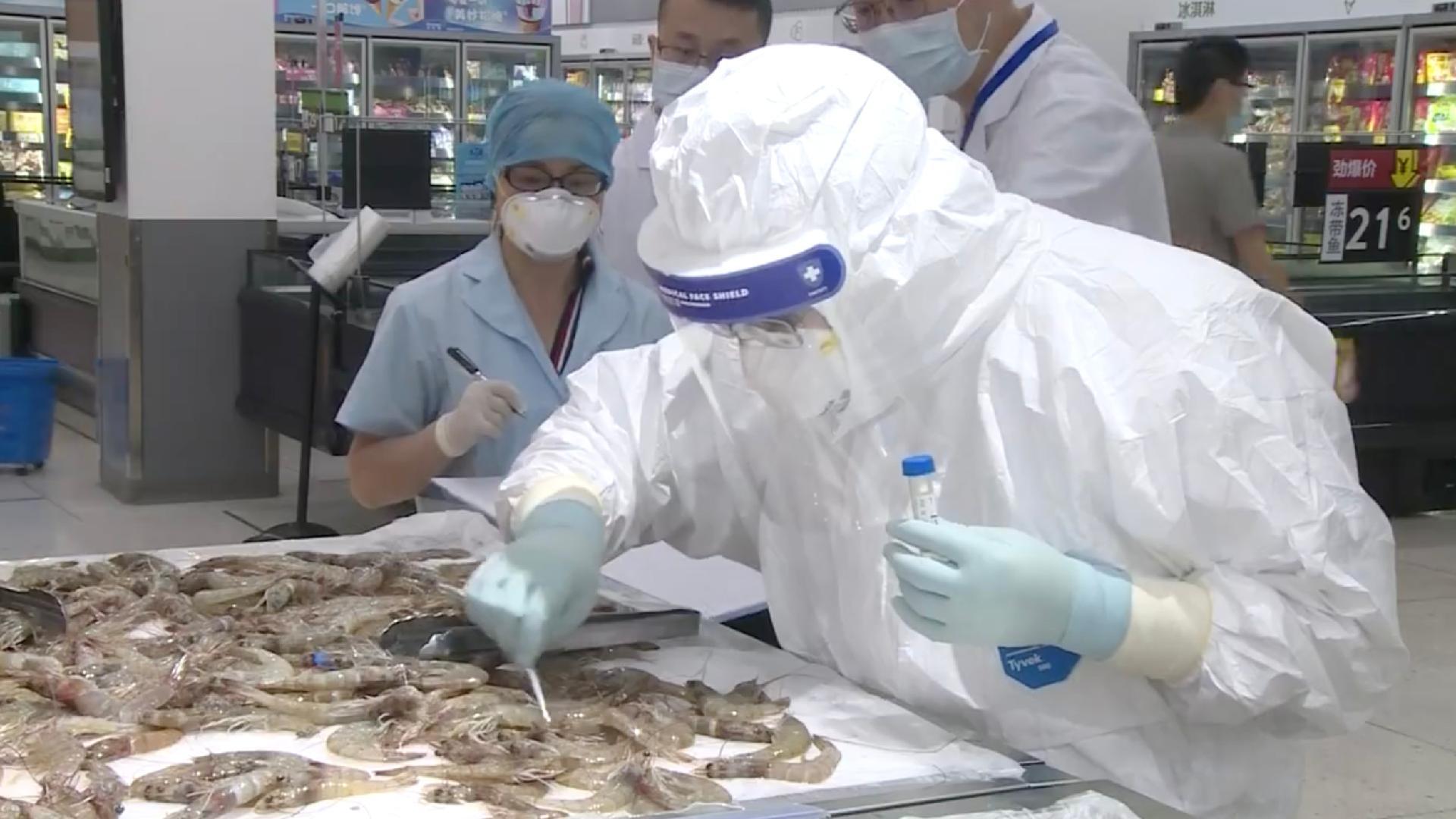 Chinese customs detect coronavirus in frozen South American shrimps - CGTN