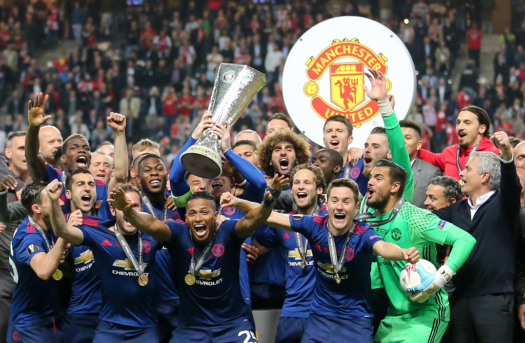 europa league 2020 manchester united to face copenhagen or basaksehir cgtn europa league 2020 manchester united