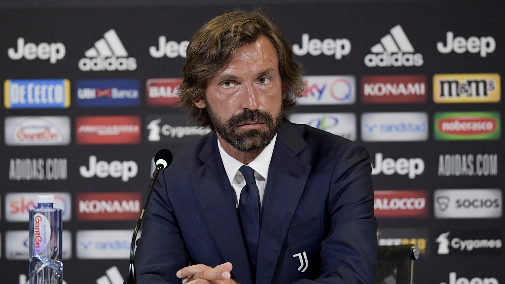 Juventus Hand Pirlo His First Manager S Role Cgtn