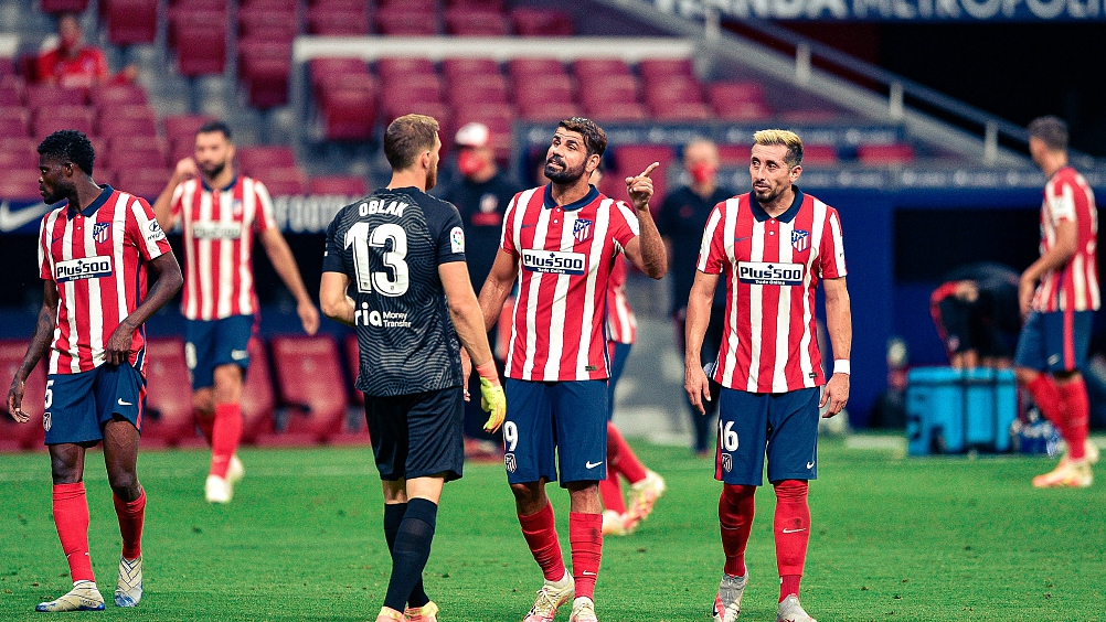 Atletico Madrid S New Covid 19 Cases A Wake Up Call For World Football Cgtn