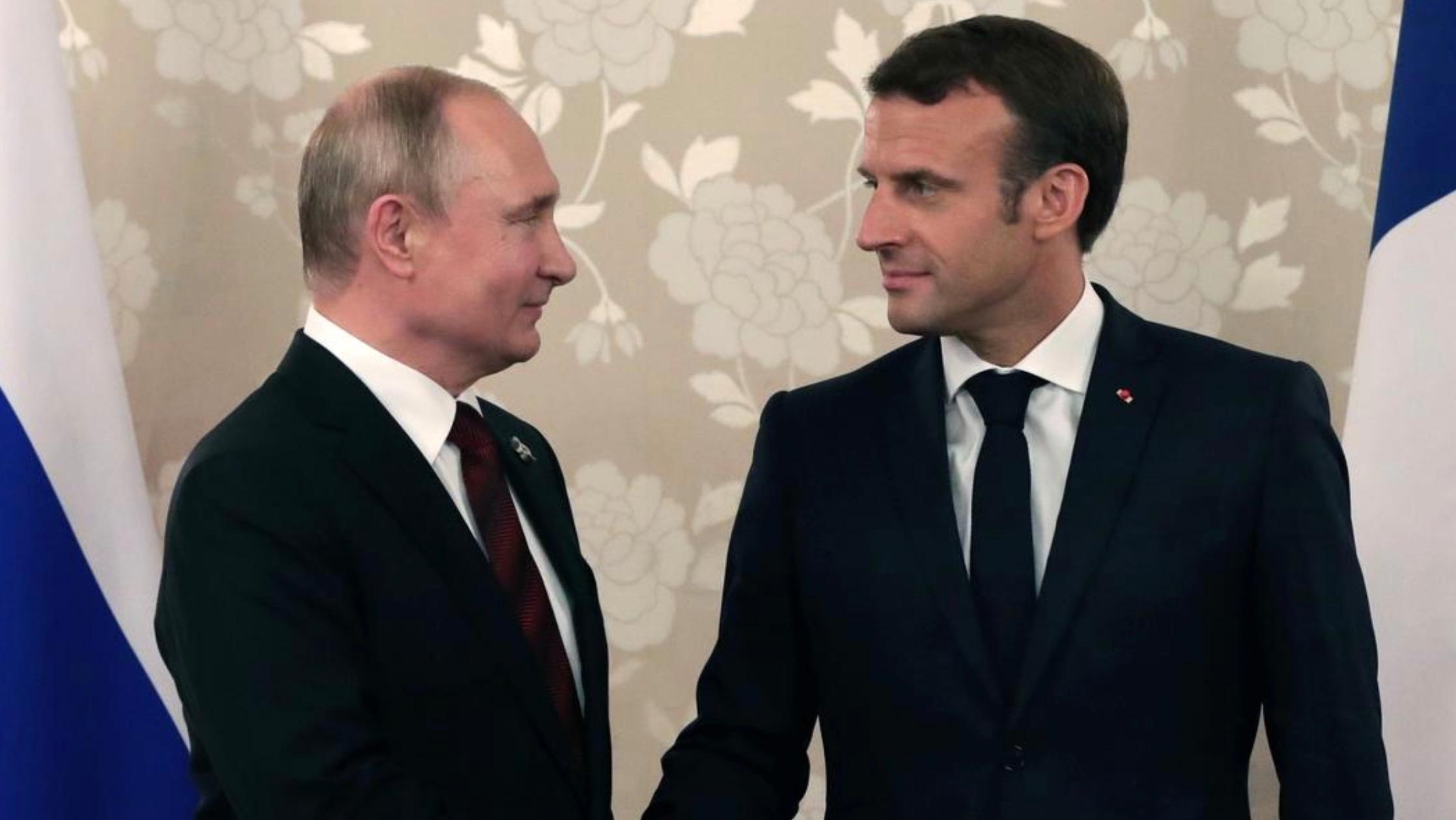Putin Macron Discuss Situation In Lebanon Ukraine By Phone Cgtn