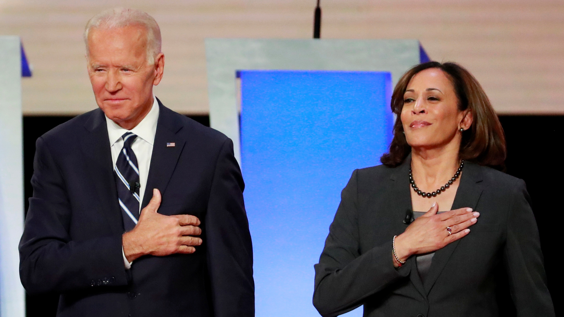 Biden Blasts Trump For Abhorrent Birther Rhetoric On Harris Cgtn