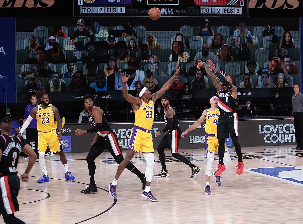 Nba Highlights On Aug 18 Welcome To The Playoffs Cgtn