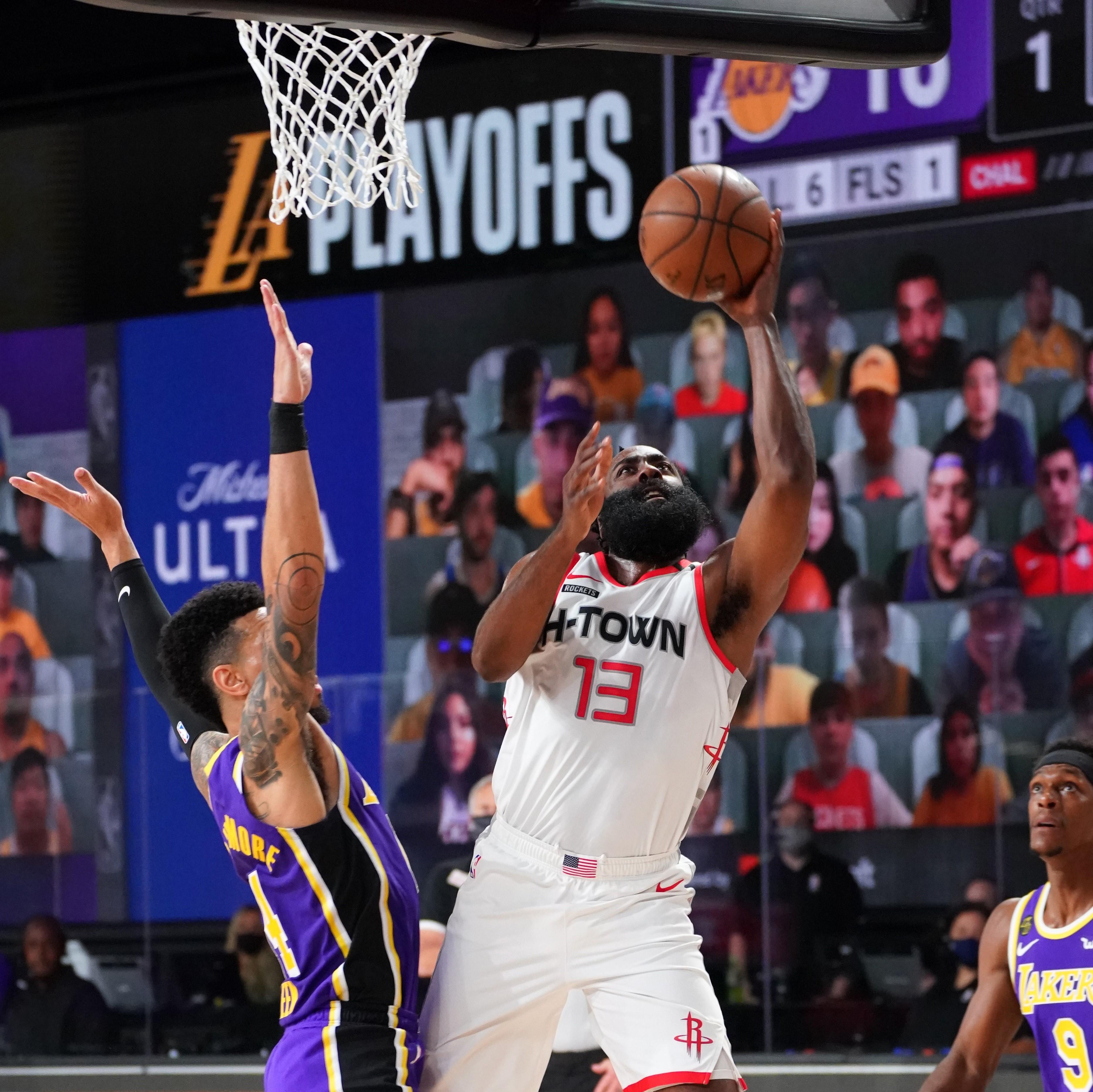 Nba Highlights On Sep 4 Better Prepared Rockets Beat Lakers Cgtn