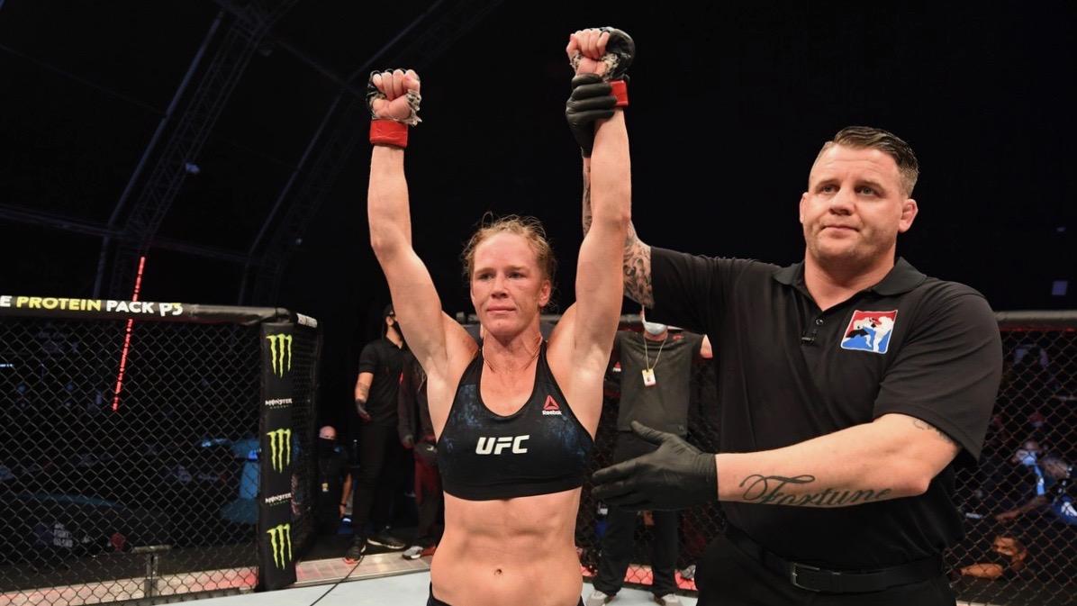 UFC Fight Island: Holm puts on masterclass against Aldana - CGTN
