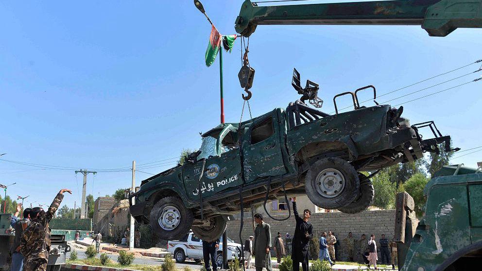 October 2020 Afghanistan attacks