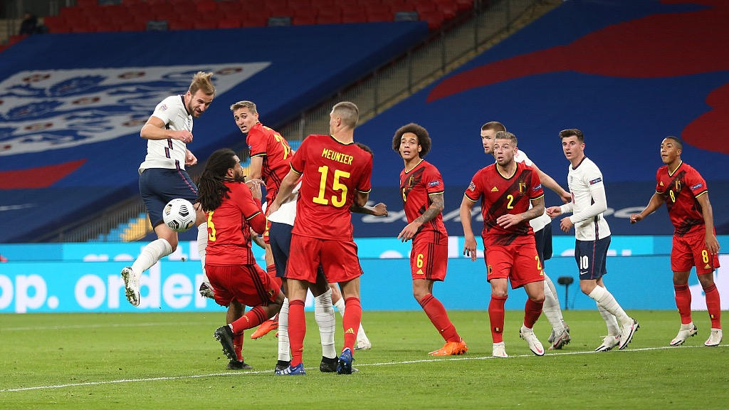 Nations League England Beat Belgium As Portugal Italy Stay Top Cgtn