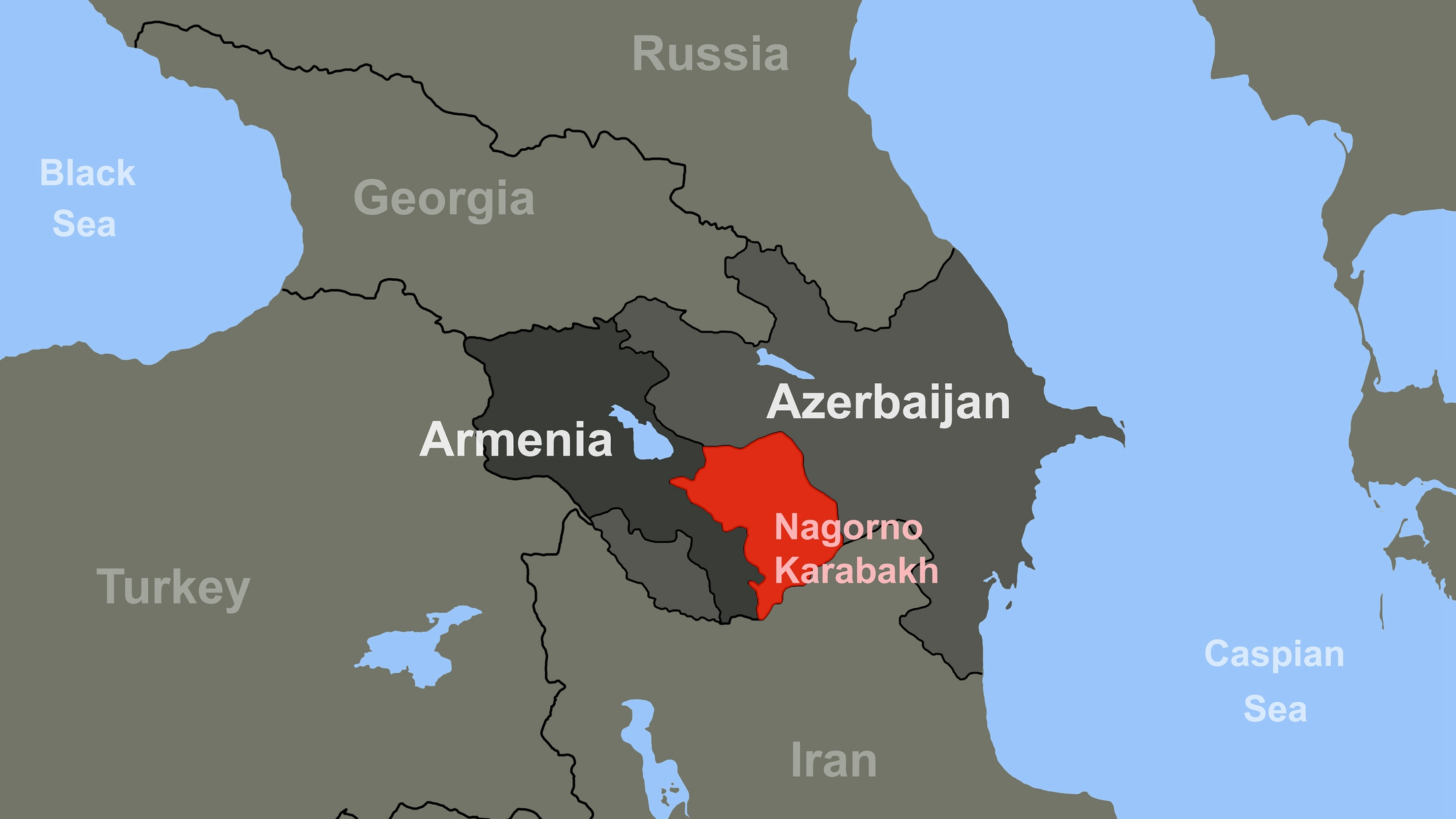 Armenia Azerbaijan And The Middle East Cgtn