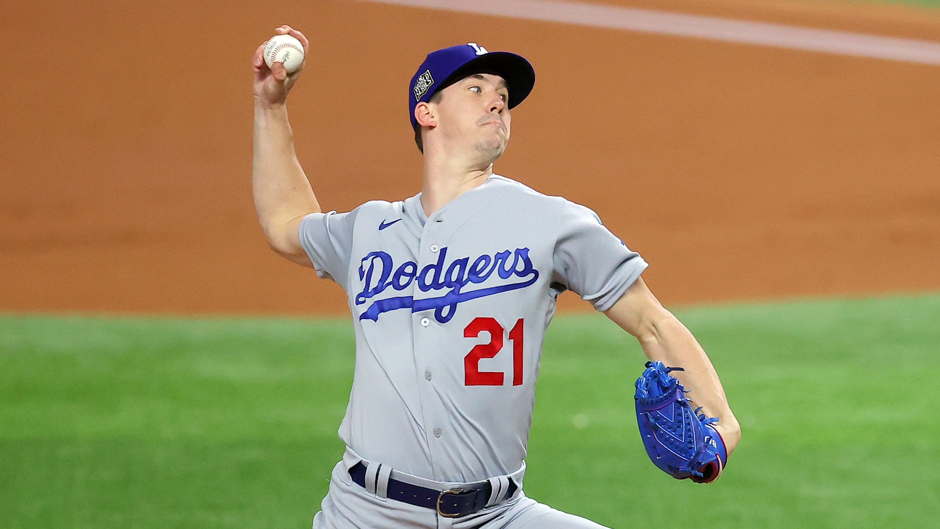 Buehler leads Dodgers over Rays 6-2 for 2-1 Series lead - CGTN