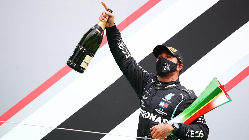 Lewis Hamilton in dreamland after breaking Michael Schumacher's record - CGTN