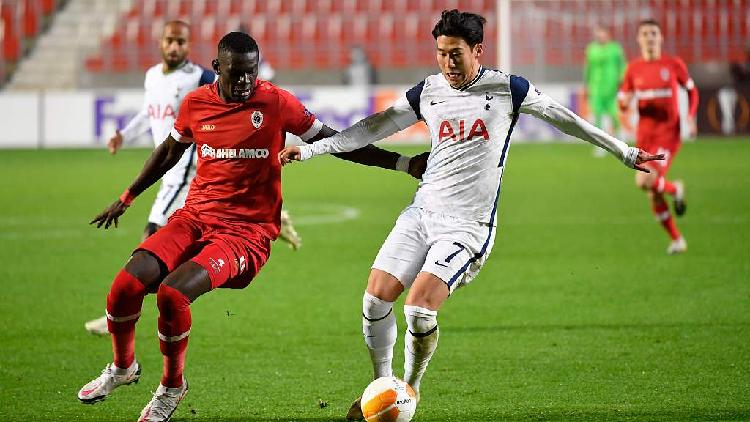 Antwerp Upset Spurs To Go Top Of Europa League Group Milan Win Again Cgtn