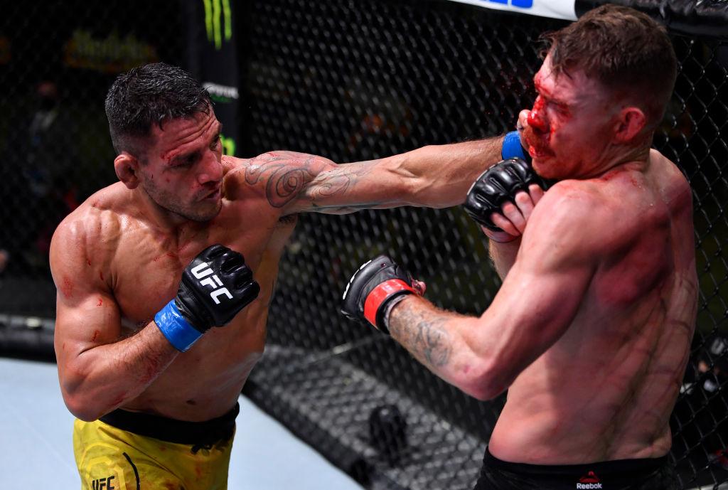 UFC Fight Night: Paul Felder steals Rafael dos Anjos' thunder - CGTN