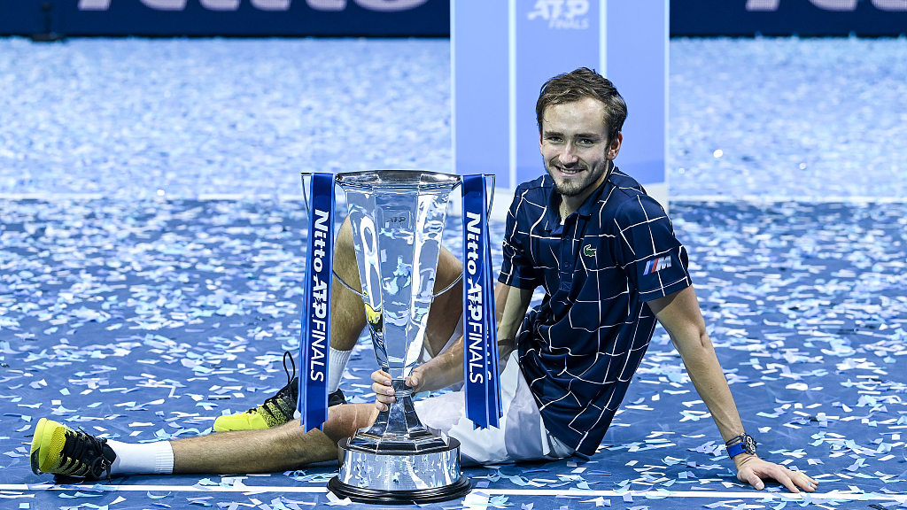 Daniil Medvedev beats Dominic Thiem to win ATP Finals title - CGTN