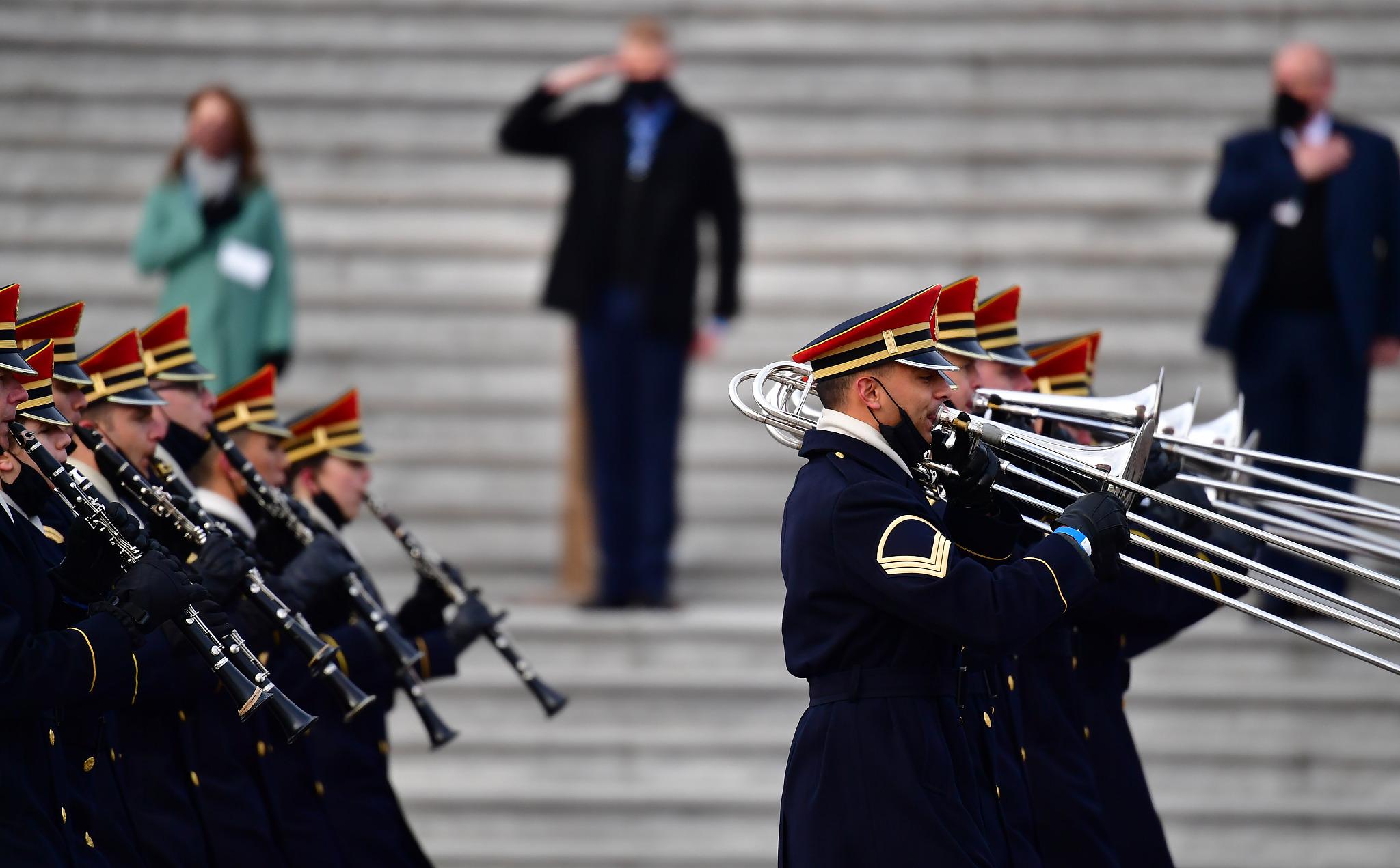 Biden inauguration rehearsal disrupted amid U.S. Capitol ...