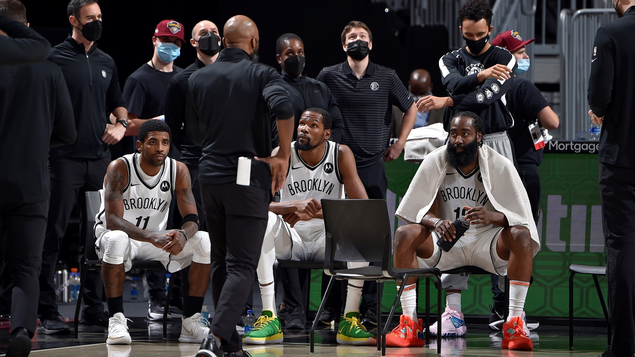 NBA highlights on Jan. 20: Nets Big 3 met, and they lost - CGTN