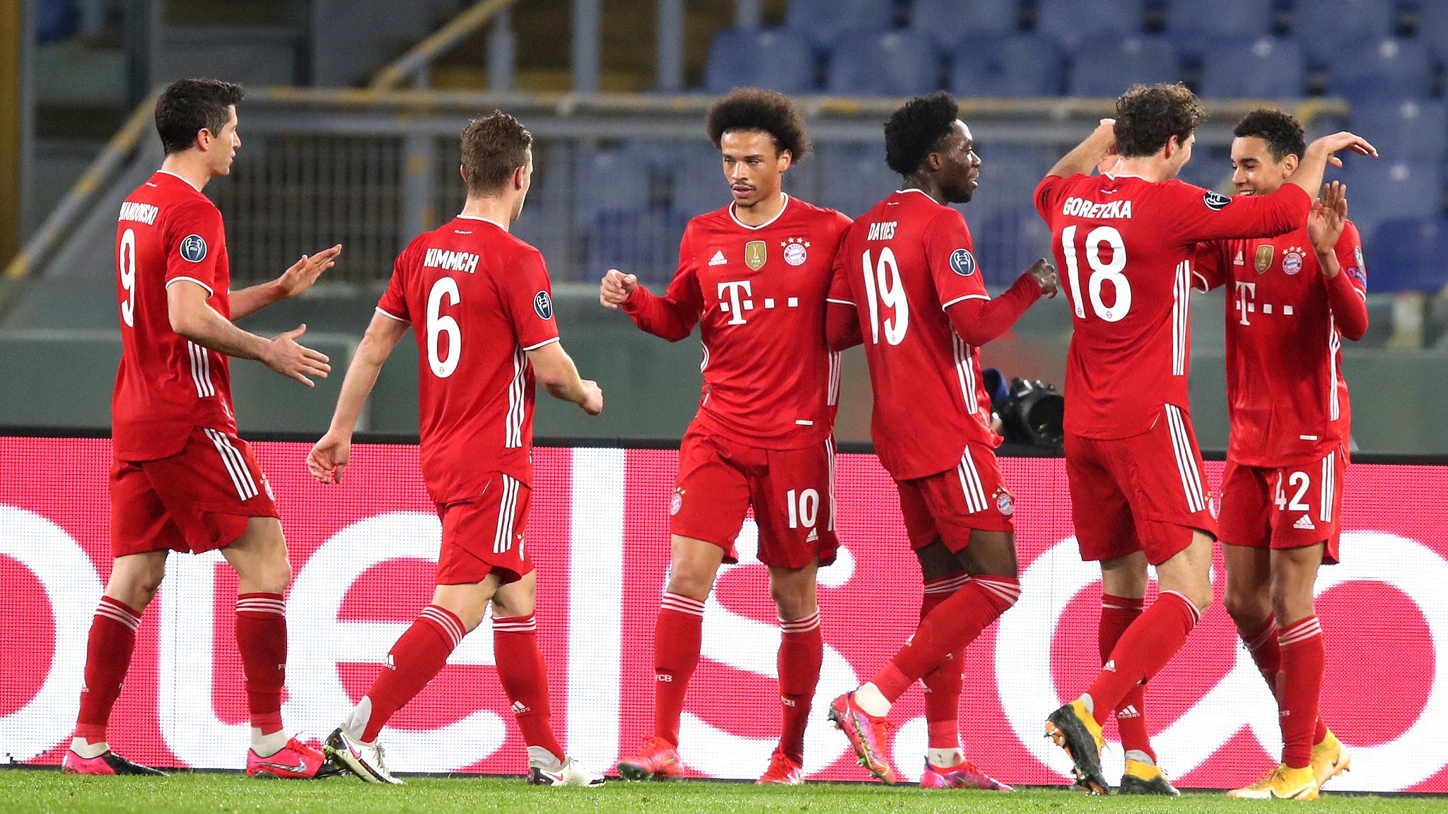 Musiala shines as Bayern Munich rout Lazio - CGTN