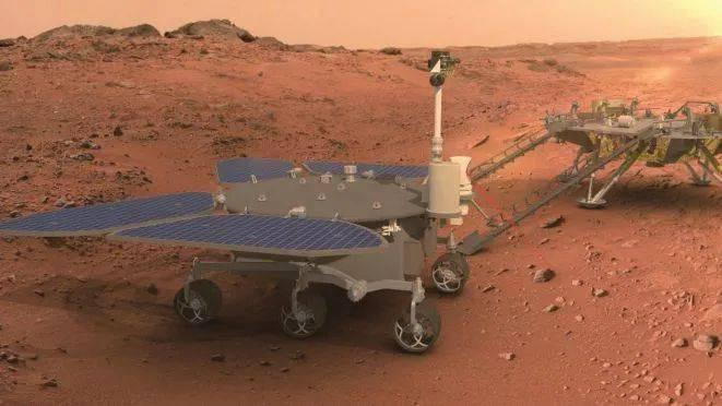 China'S First Mars Rover Named 'Zhurong' - Cgtn