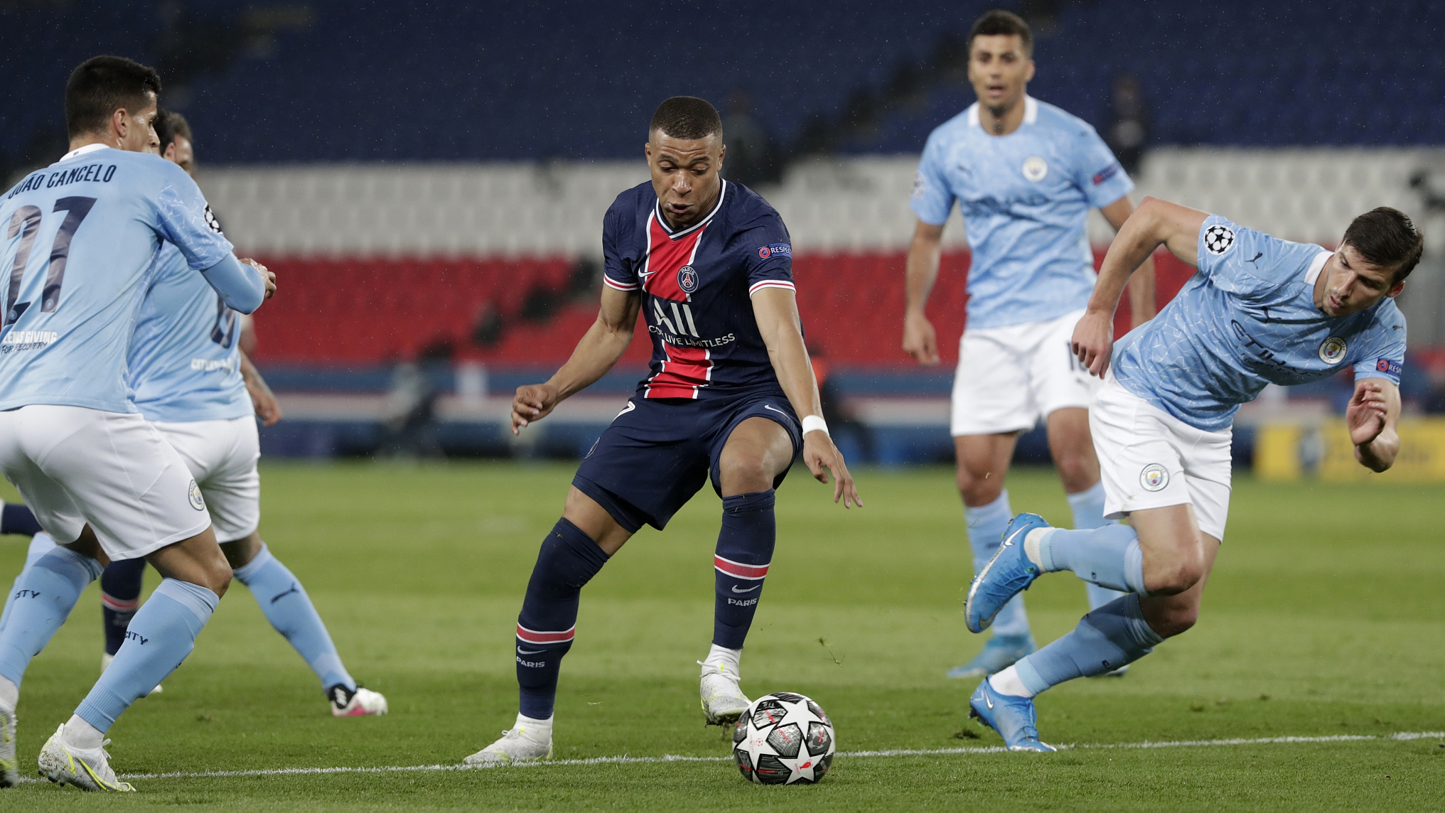 Neymar and Mbappe struggle as Man City come from behind to stun PSG - CGTN
