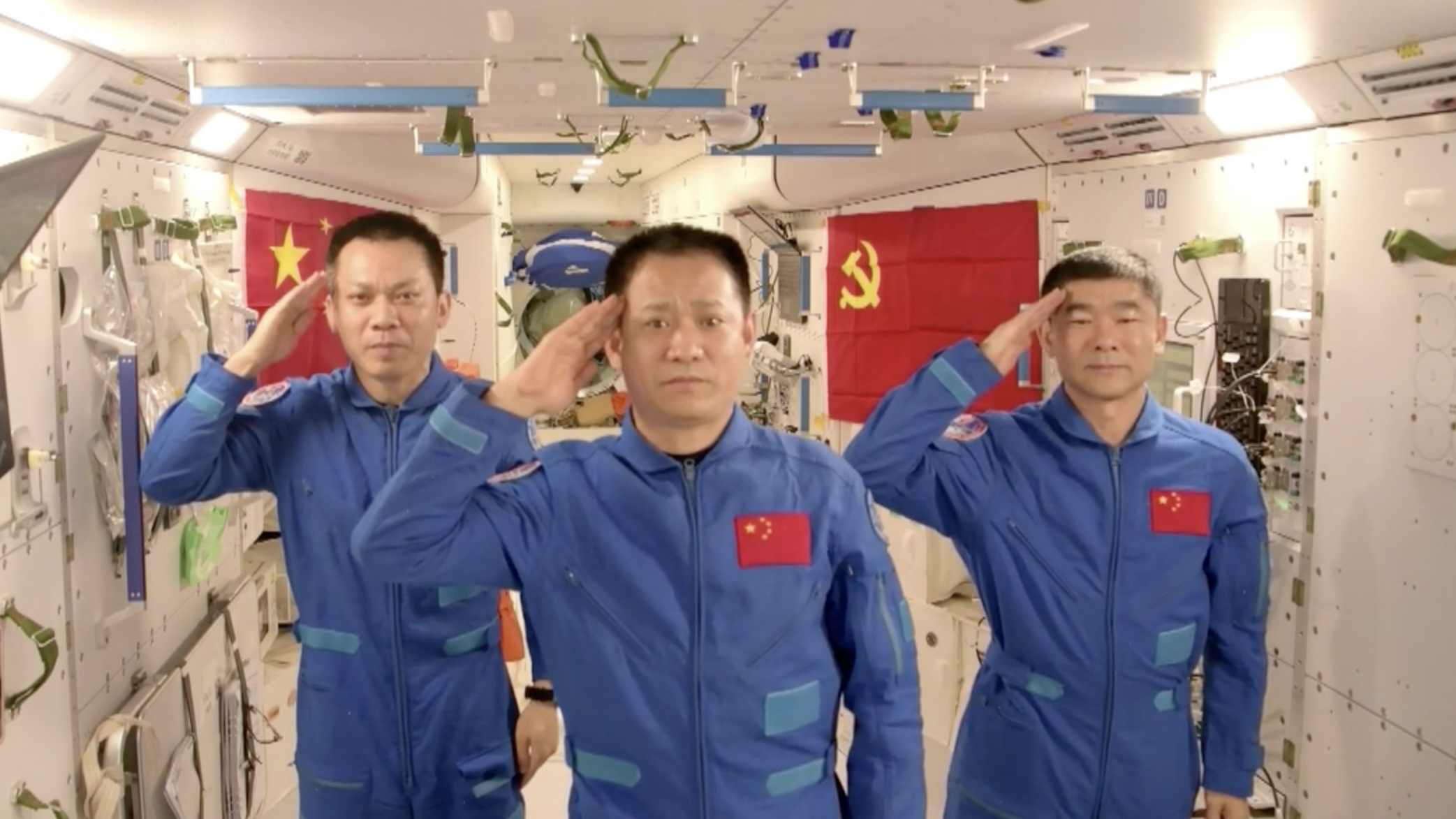 - 8c61af23242e4b6c9fc8692cea2779f2 - A month in China Space Station: What's been done so far?