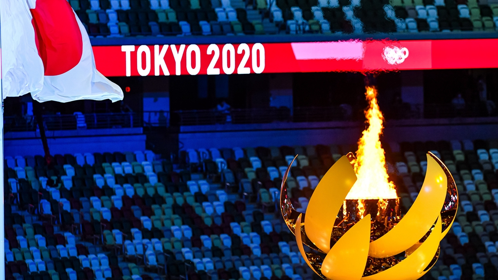 Tokyo Olympic flame is the first powered by hydrogen - CGTN