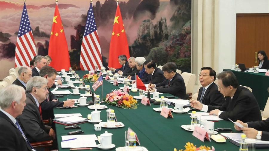 Premier Li urges US Congress to work with China on trade