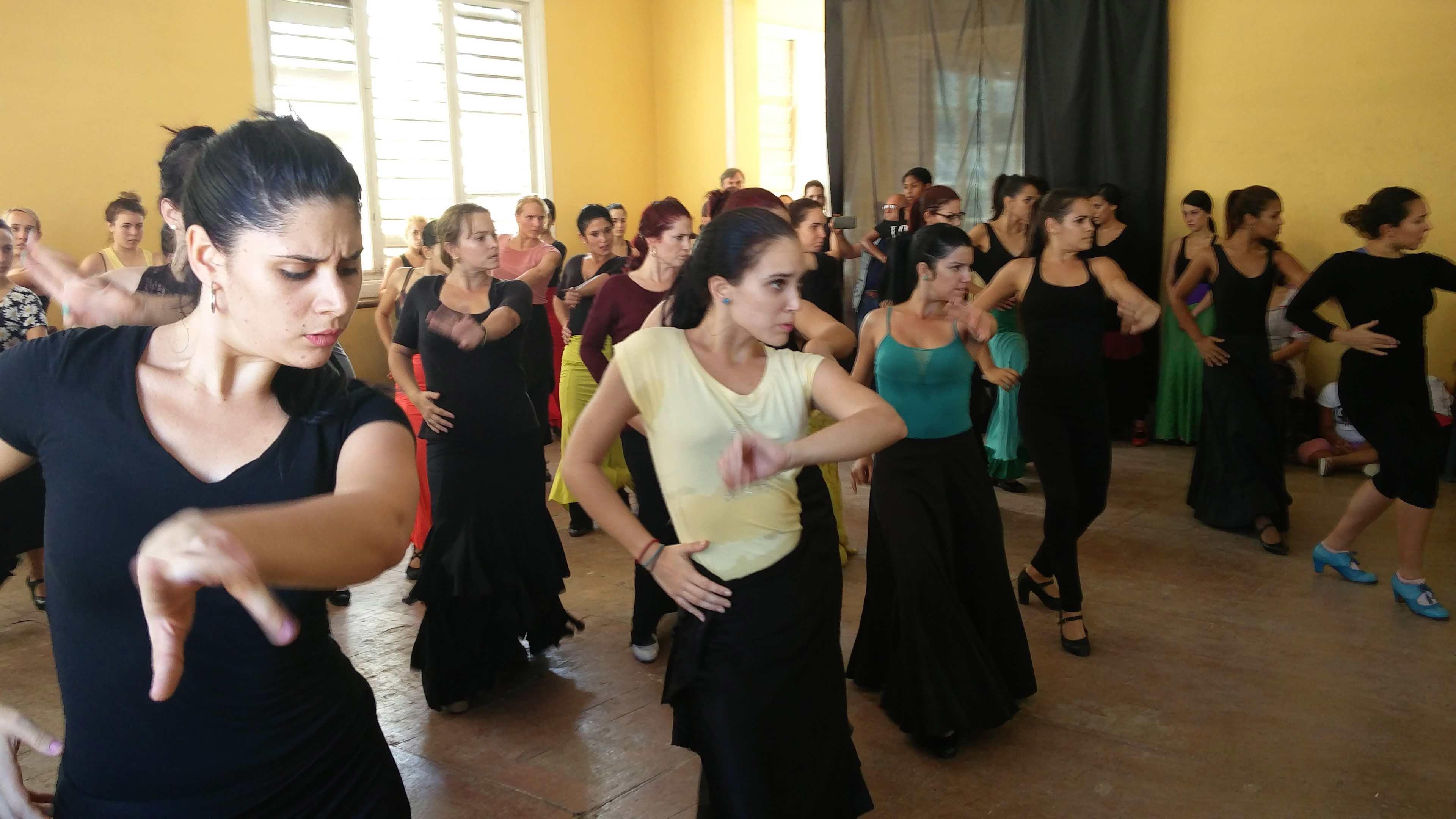 Flamenco class /CGTN Photo