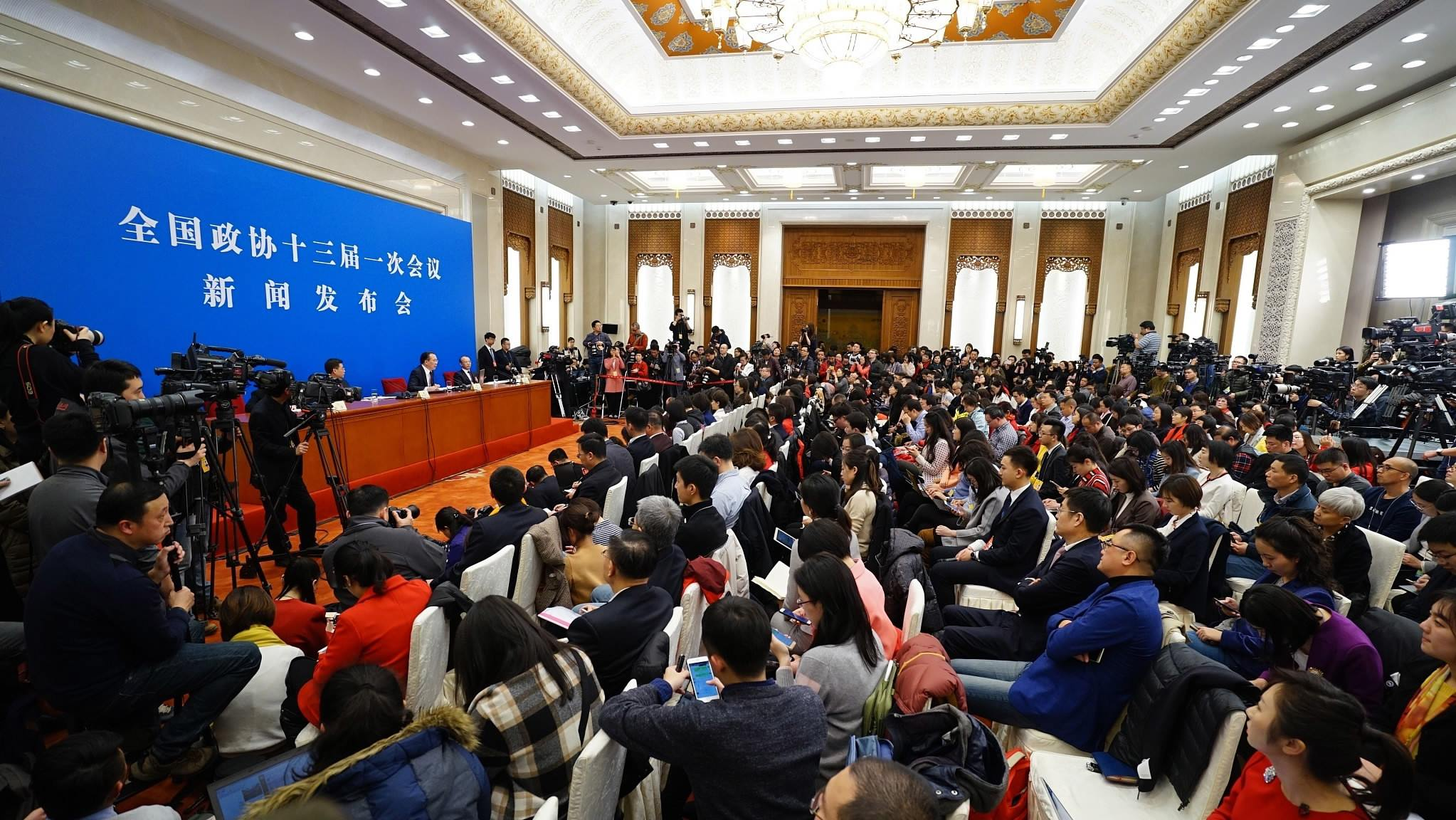 Reporter's Diary: A first taste of China's Two Sessions 2018