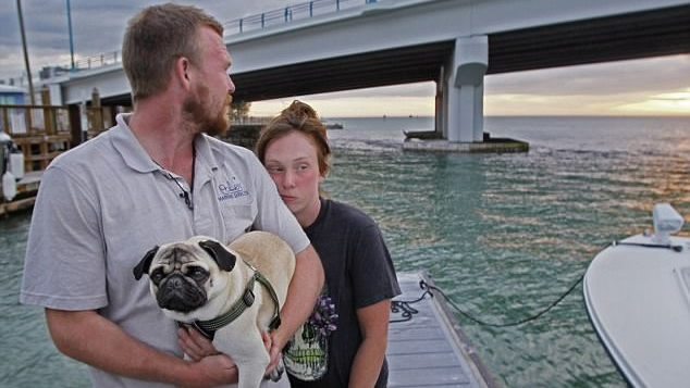 US Couple's dream to sail around the world sinks in two days