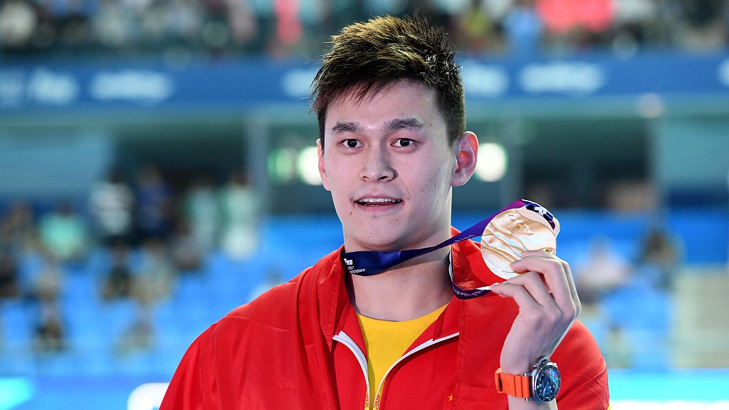 Sun Yang wins China's first sw...