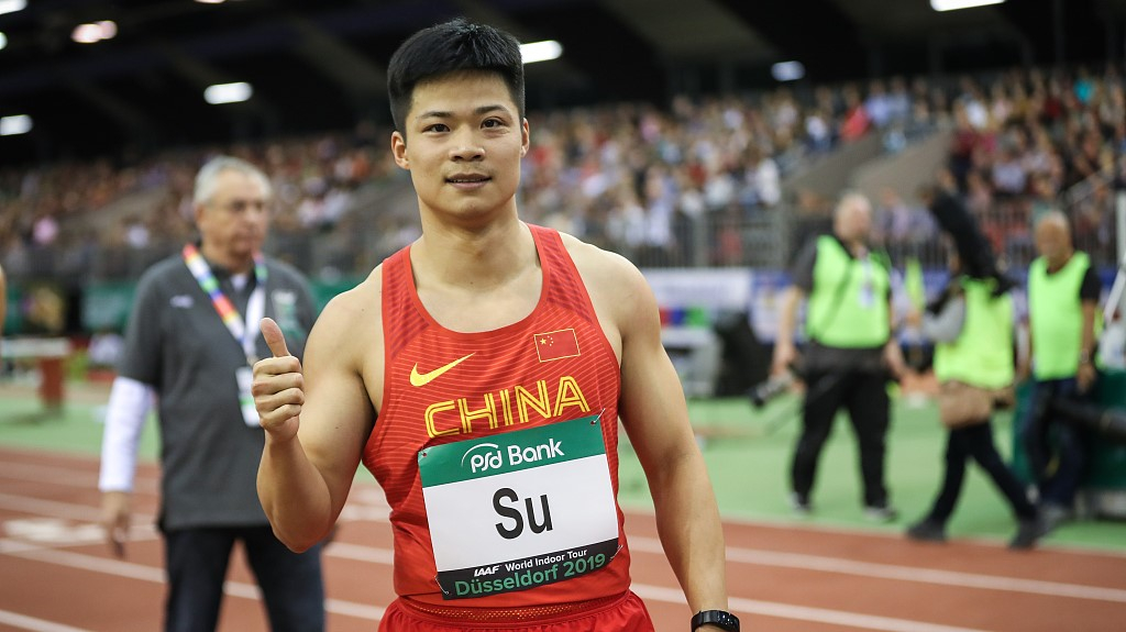 Su Bingtian to make 2020 debut at Meeting Düsseldorf in ...