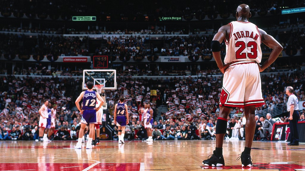How did Michael Jordan become the G·O·A