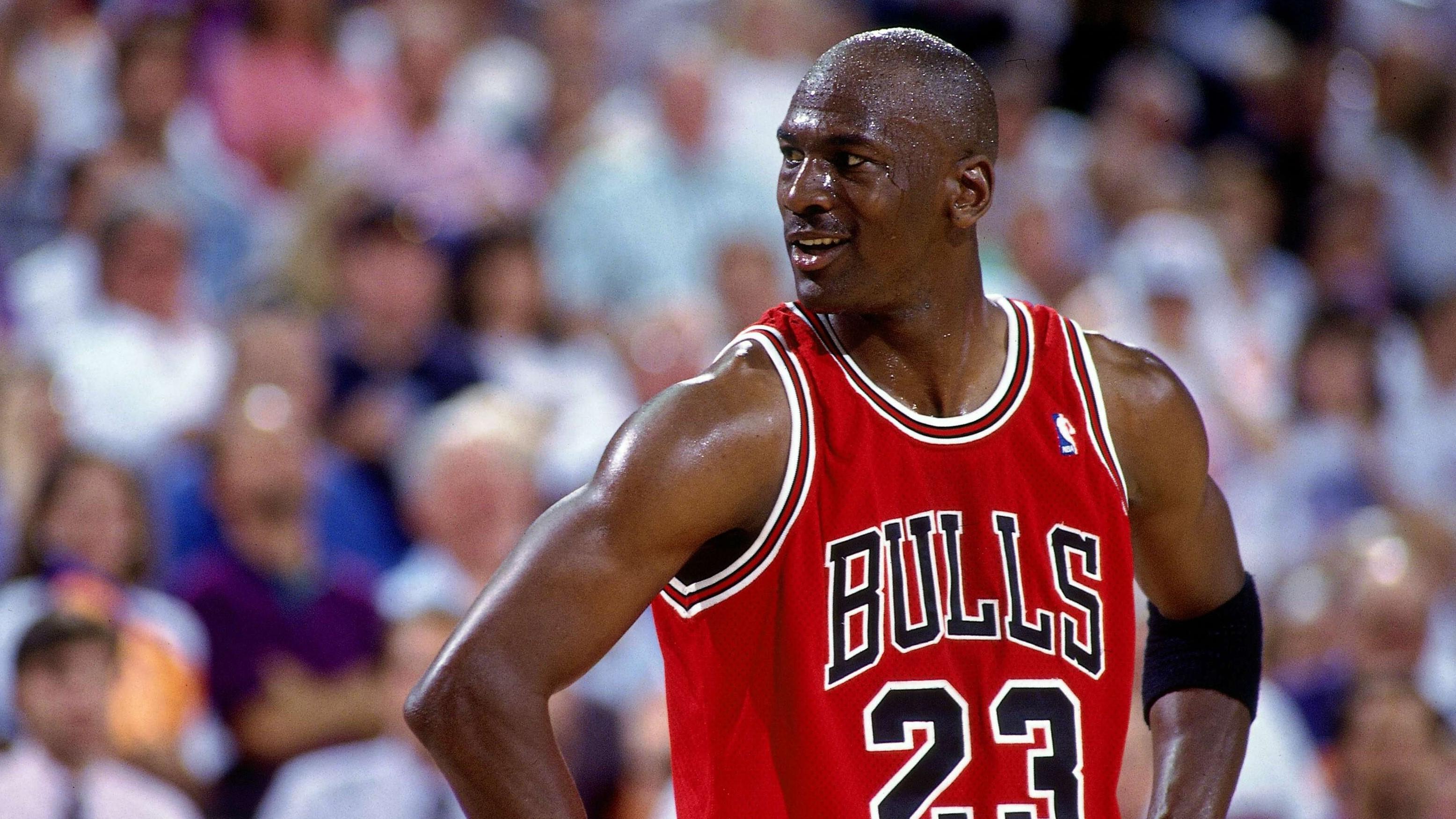 Michael Jordan's six NBA championships