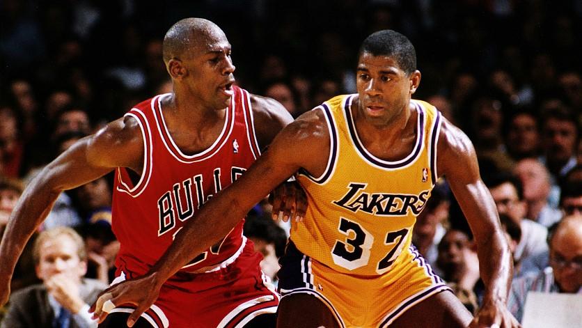 six NBA championships: 1991, MJ vs. MJ