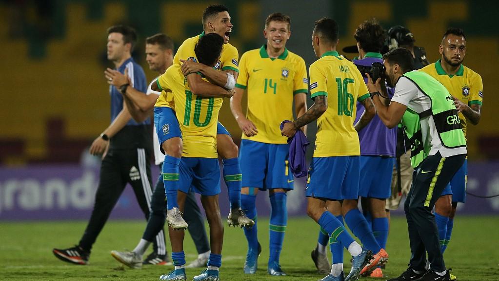 Brazil Qualify For Football At 2020 Summer Olympics Cgtn