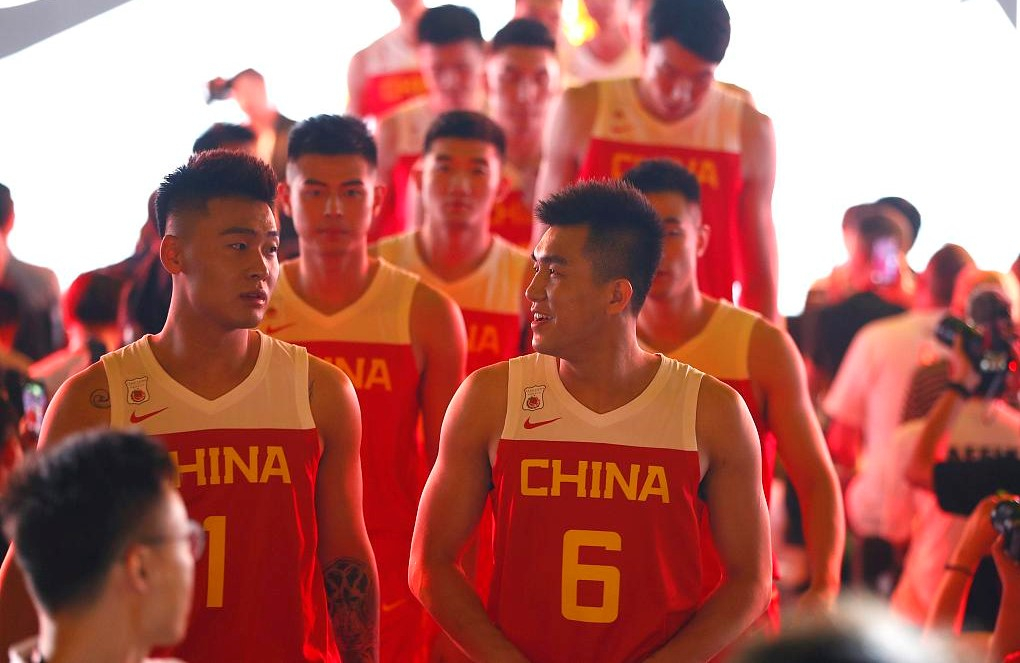 the latest eb892 253d8 Team China unveils new uniforms for 2019 FIBA World Cup - CGTN