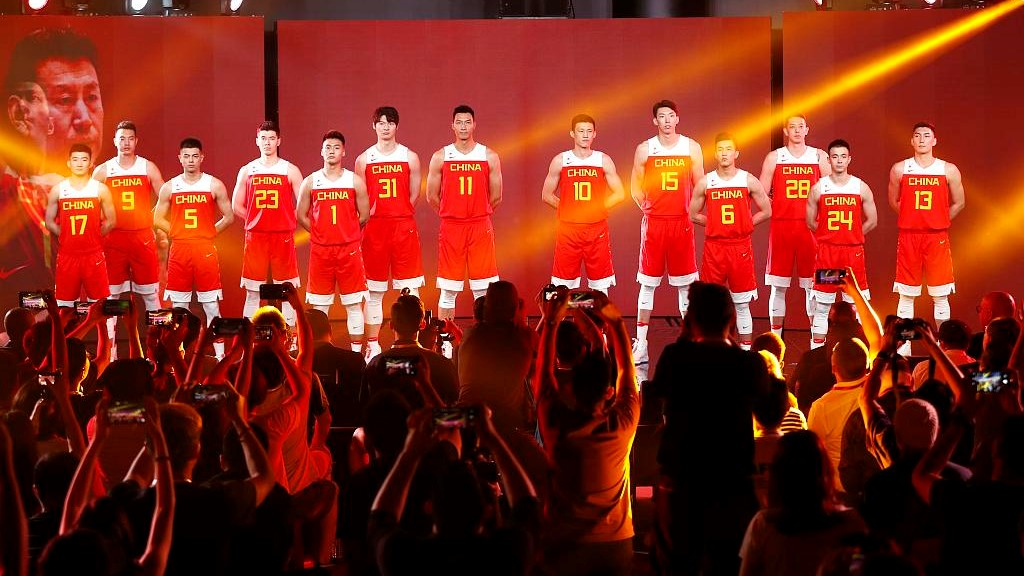 the latest 42c06 949ab Team China unveils new uniforms for 2019 FIBA World Cup - CGTN