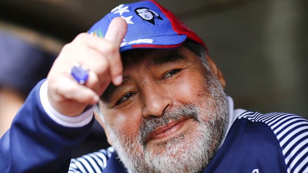 Diego Maradona resigns as manager of Argentinian side Gimnasia - CGTN