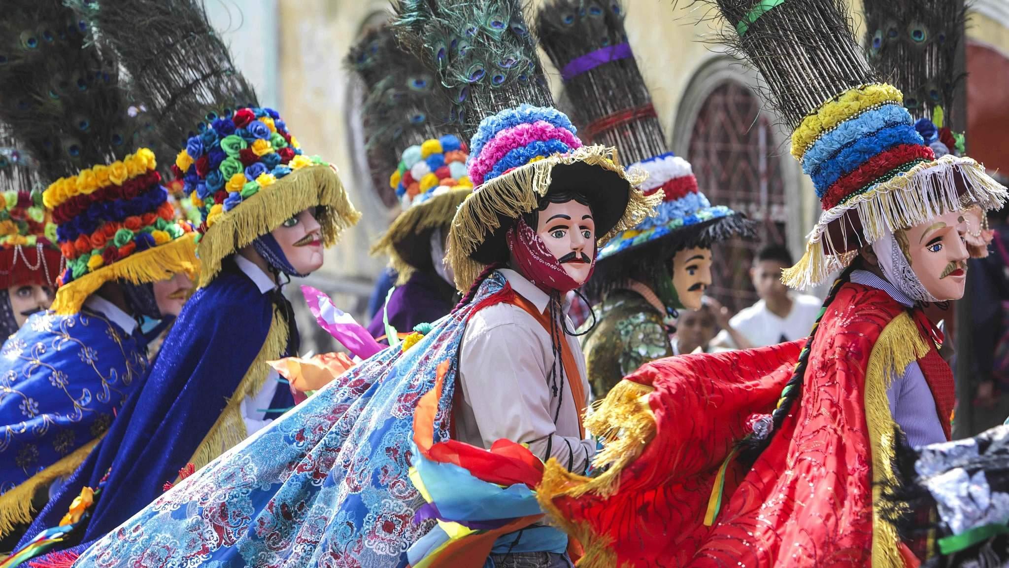 Nicaragua celebrates San Sebastian festival - CGTN