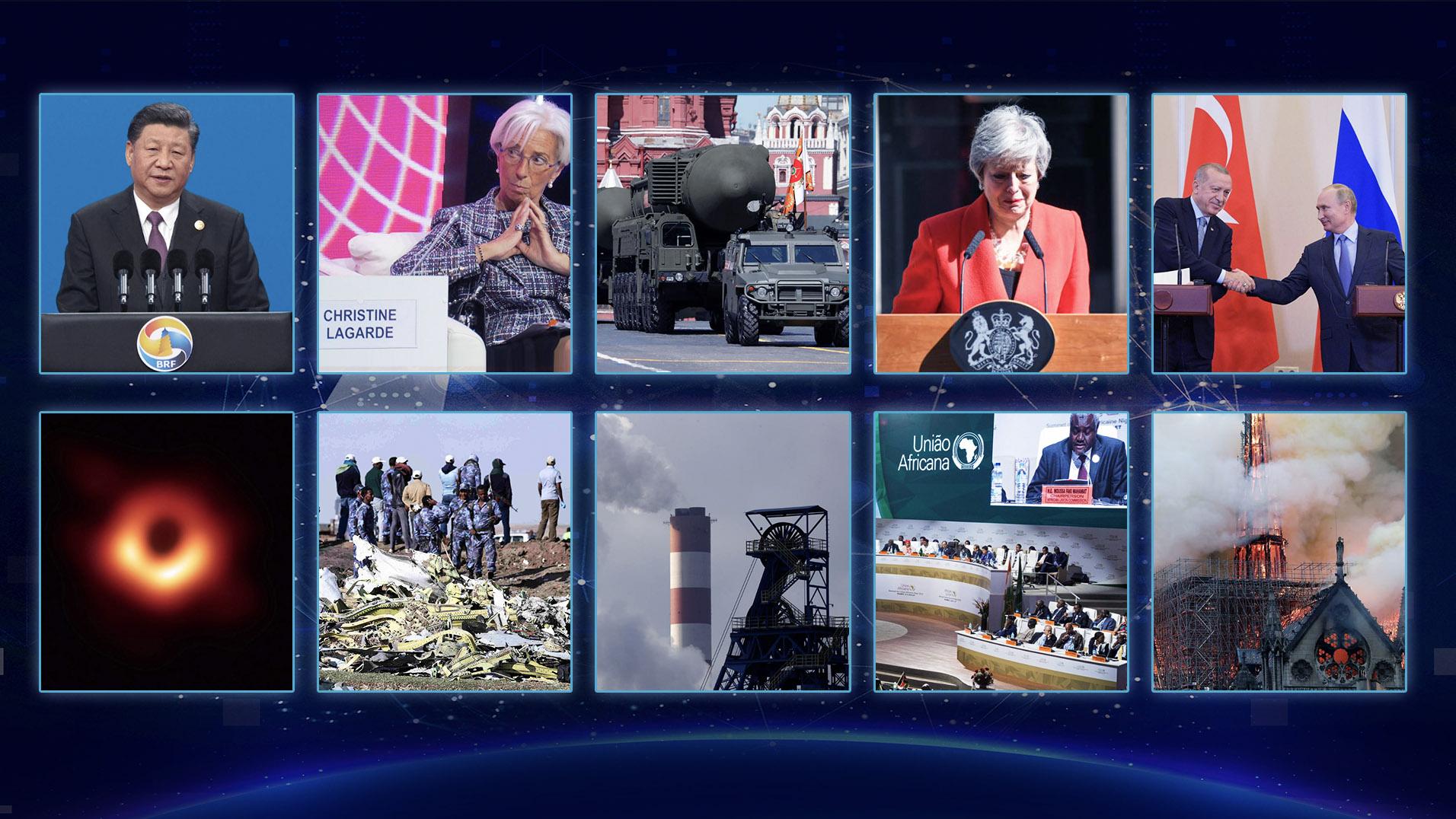 China Media Group ranks 2019's top 10 international news stories ...