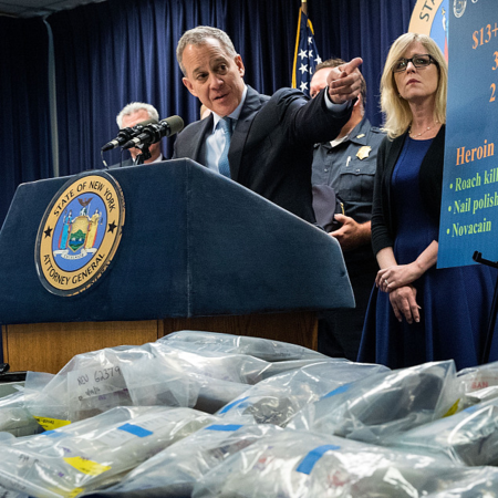 How did fentanyl become a point of China-U.S. contention?