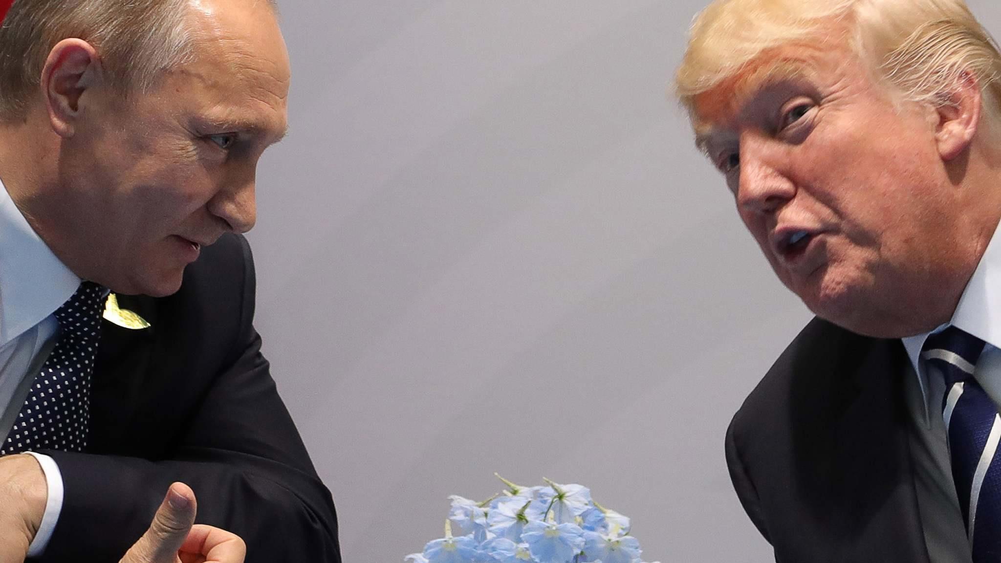 Путин и Трамп: встреча в Белом доме возможна? - DW Новости ...