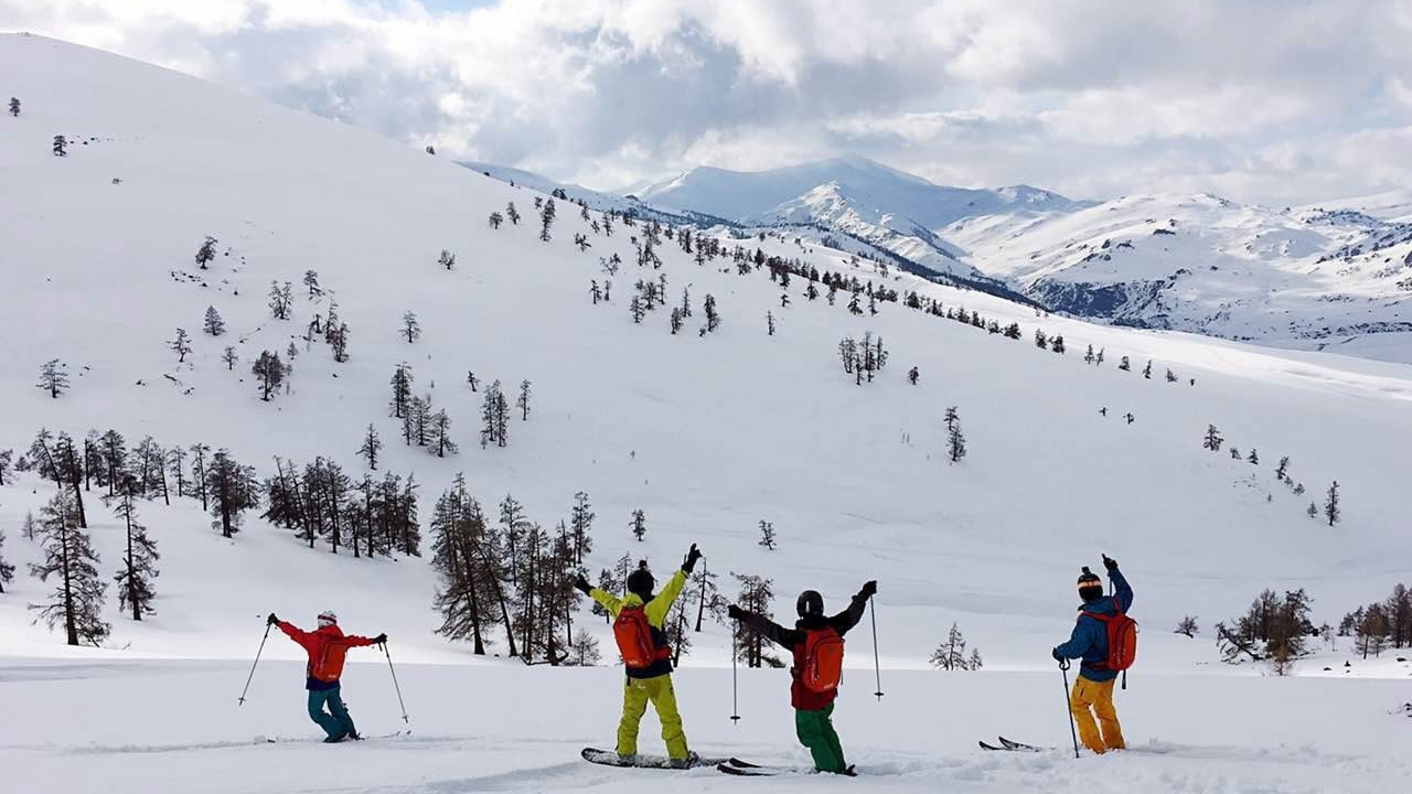 China S Altay Is A Dreamland For Skiers Cgtn