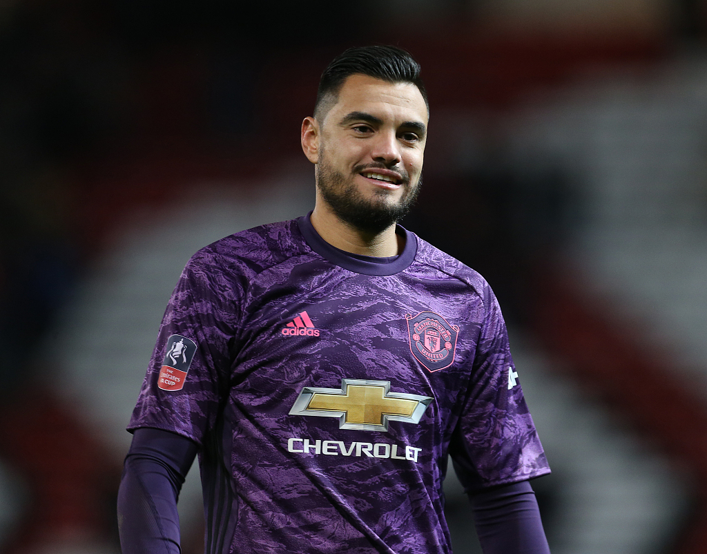 Man United Goalkeeper Romero Unhurt After Crashing Lamborghini Cgtn