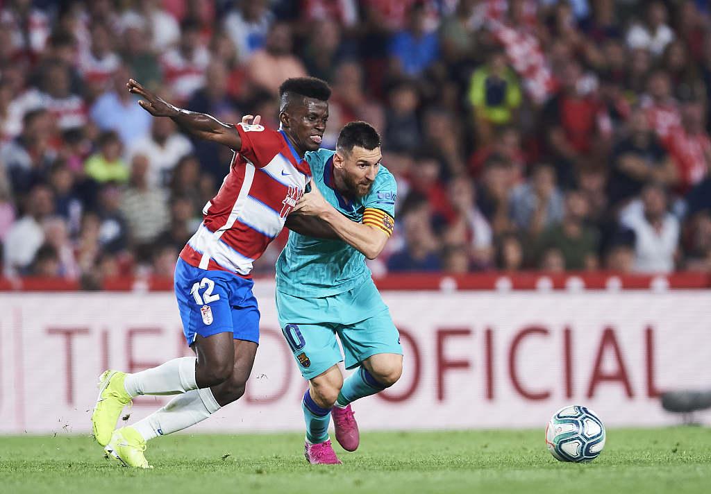 Granada Stun Dismal Barca To Go Top Of La Liga Cgtn